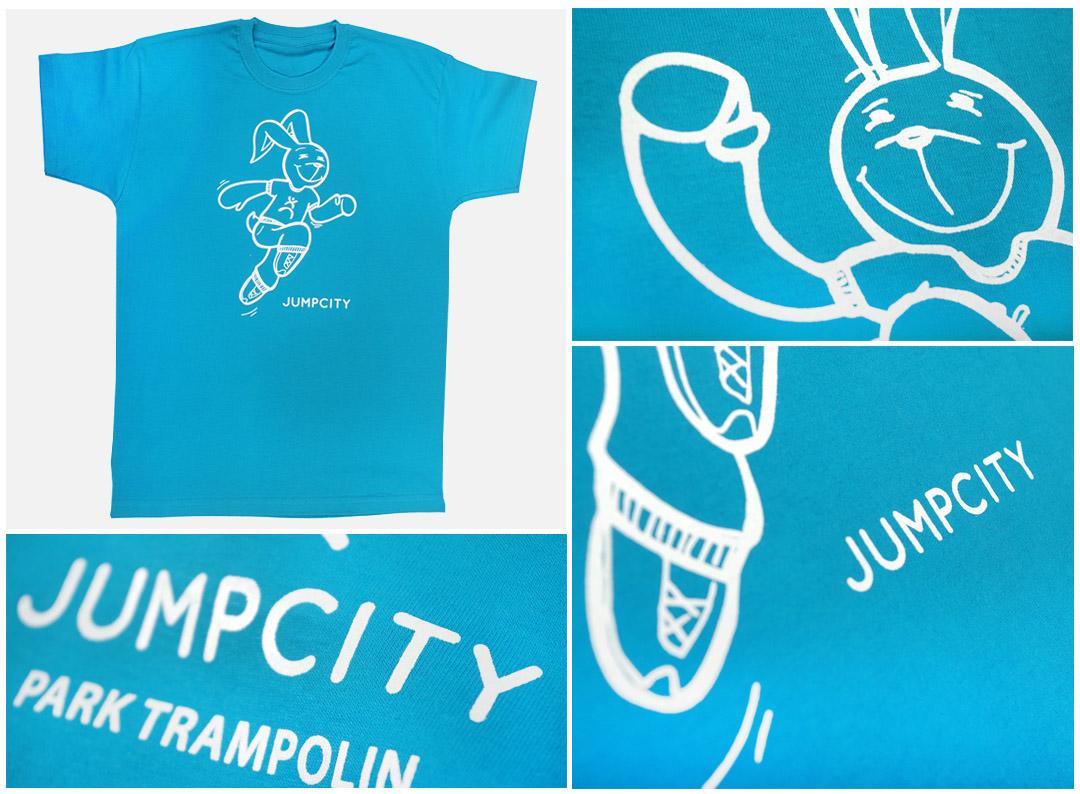 Nadruki na koszulkach - Jump City | Printexpress.pl